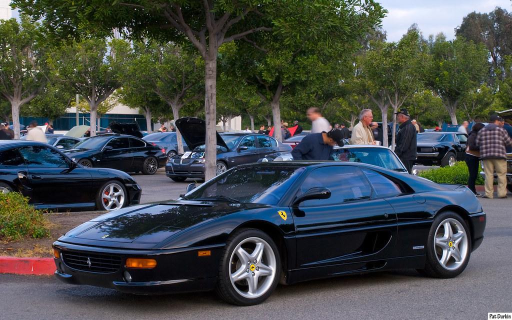 1997 ferrari f355 berlinetta black fvl cars coffee
