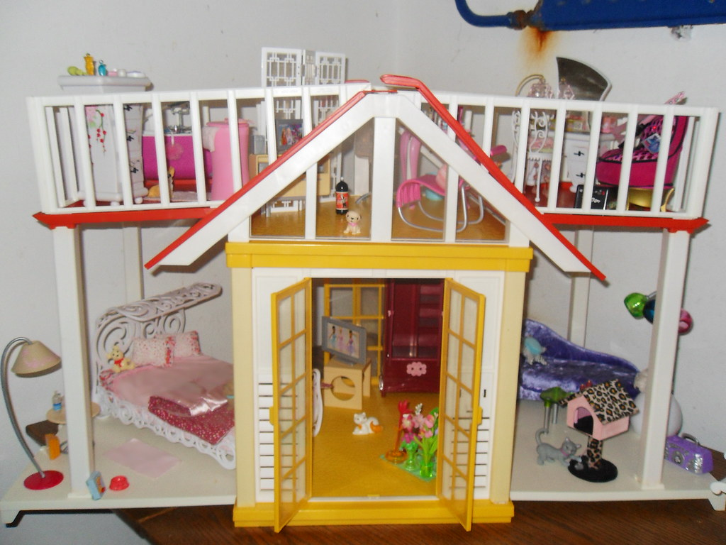 barbie dream cottage fashion fever house furniture