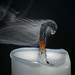Smoke Droplets With Refraction