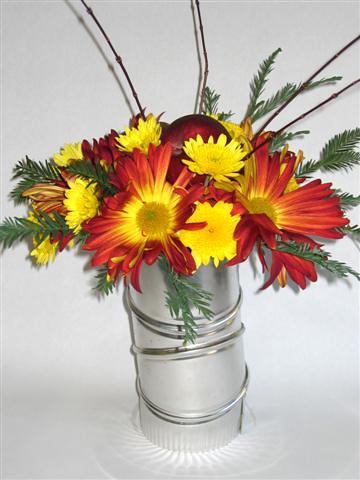 Contemporary Floral Arrangement | For more ideas, visit ...