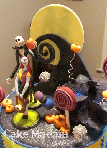 The Nightmare before Christmas cake | by Cake Madam