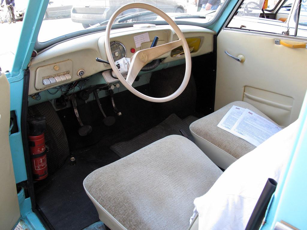 1963 Trabant Interior Spartan Interior Of A 1963 Trabant