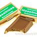 Chocolate Swiss Haselnuss Chocolate Squares