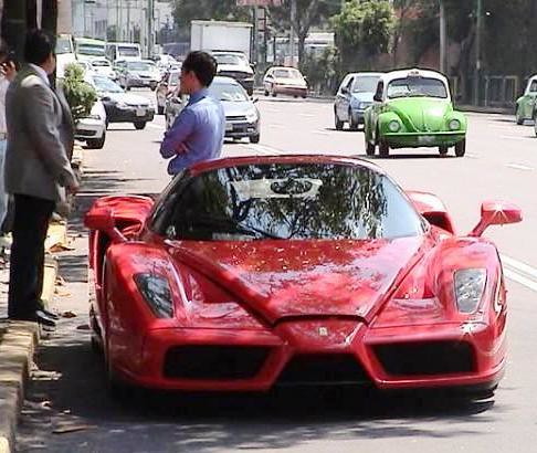 Enzo Ferrari Mexico Df Esta Vieja Foto Fue La Causante