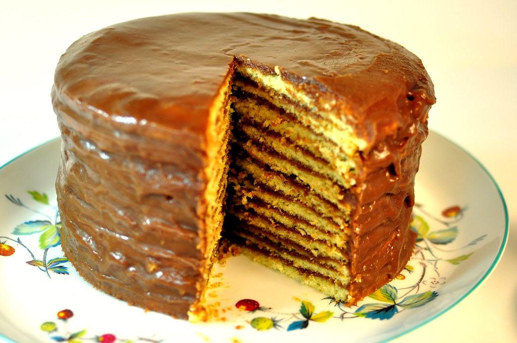 Thin Layer Chocolate Cake Icing Recipe