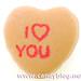Necco Sweethearts - I Heart You