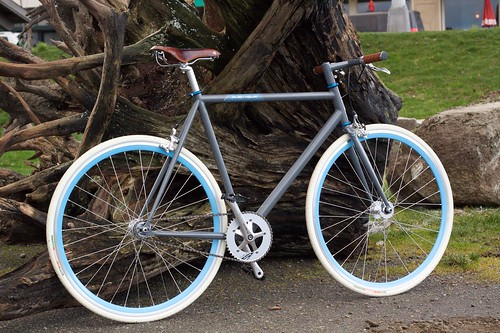 Raleigh Rush Hour Flat Bar: single, fixed | by Hugger Industries