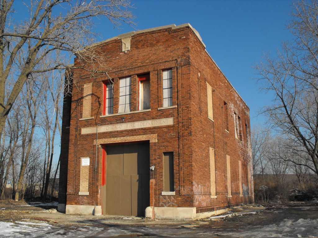 Home Of Engine 53 Chicago Fire Department Abandoned Back