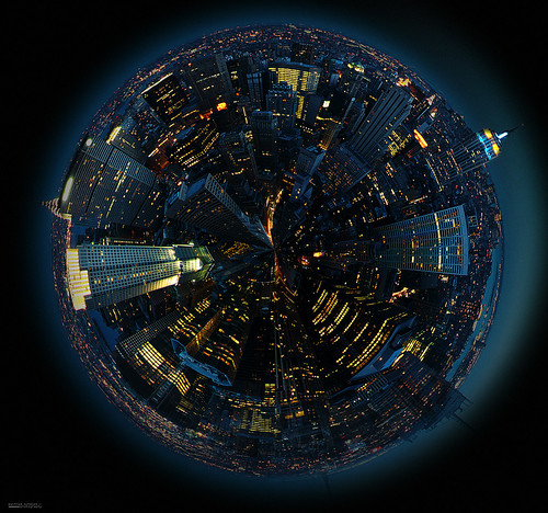 spherical nyc | by Manfred Schmidt