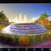 EPCOT CENTER - Fountain of Nations