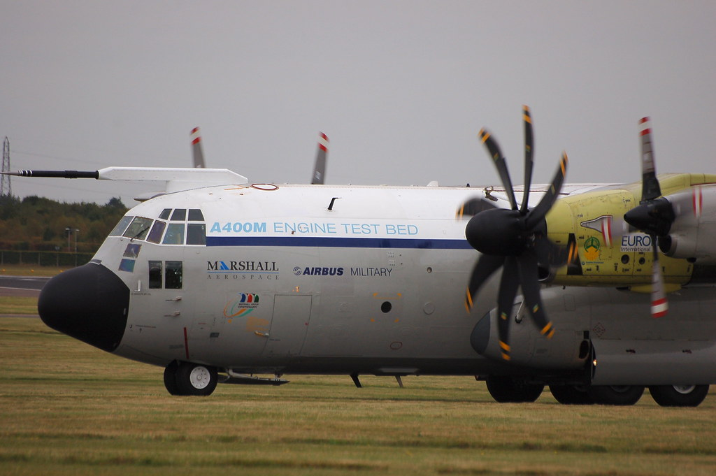 C 130 Hercules A400m Engine Testbed Geoff Collins Flickr