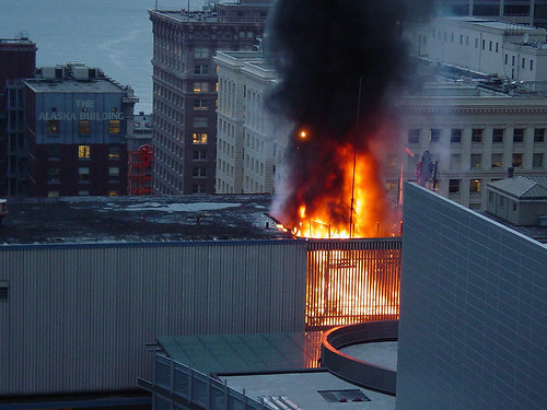 Fire in Municipal Building, 2003 | by Seattle Municipal Archives