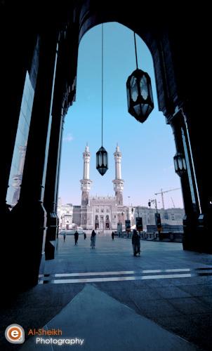 King Abdul Aziz Gate Makkah Location Abraj Albait Me Flickr