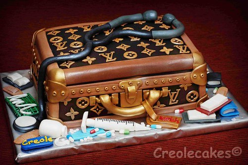 Images Of Luggage Cakes