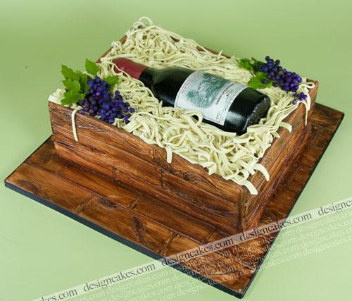 Cake Design Wine Bottle : Wine bottle cake Christine Pereira Flickr