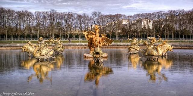 Petit parc du ch teau de versailles bassin du dragon flickr - Bassin en cuivre versailles ...