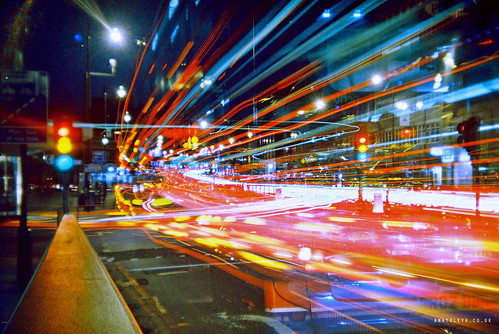 Long exposure near Finchley Road | by Anatoleya