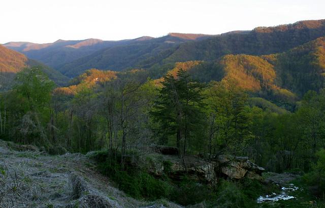 Kentucky Side Of Black Mountain The Kentucky Side Of