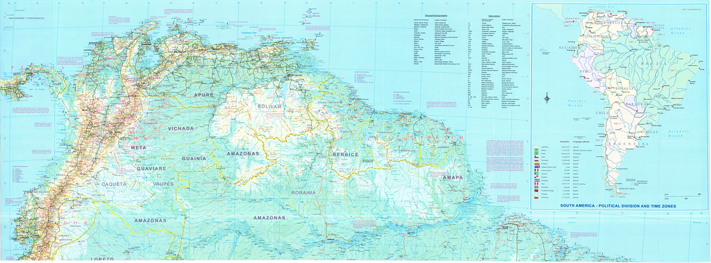 Mapa América do Sul - América del Sur - Sudamérica - Suram… | Flickr