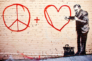 Banksy Hits San Francisco | by Thomas Hawk