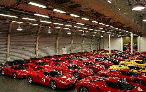 Old Ferrari Enzo 5