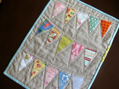 Pennant Mini For The Summertime Quilt Mini Swap In My