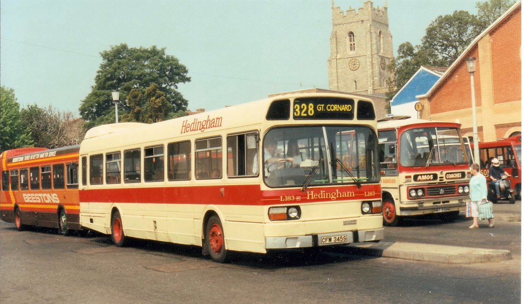 Cfm345s Cfm345s Leyland National Hedingham L183 Bus