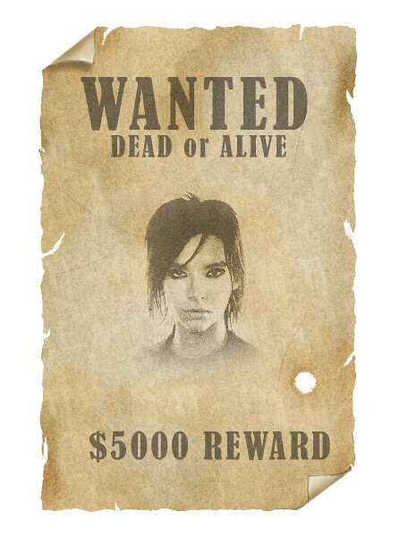 ... Old Fashioned Wanted Poster | By Ninaelisabeth26  Old Fashioned Wanted Poster