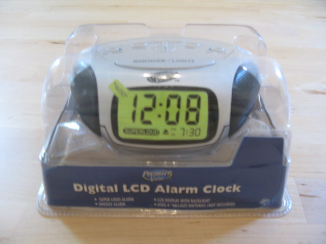 Digital Lcd Alarm Clock Brand New Flickr Photo Sharing