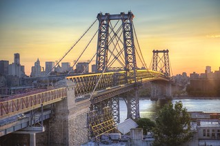 Sunsetting over Williamsburg | by Tony Shi Photos