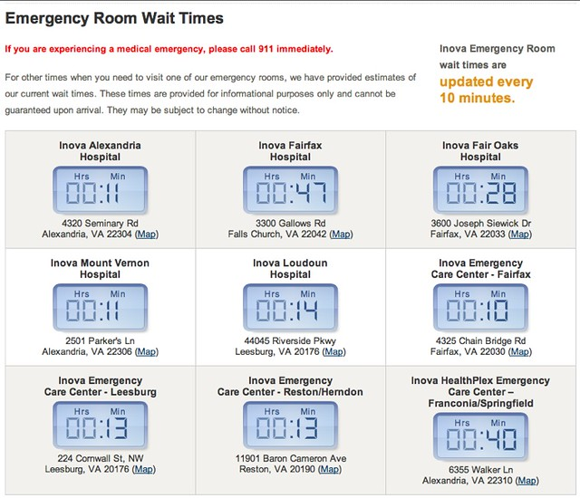 Emergency Room Wait Time Osf Rockford