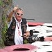 "I wave to ""Sutton Images"" founder Mark Sutton.  Boy, I'd love to have dinner and just listen to this legend's storyies about F1 and photography."