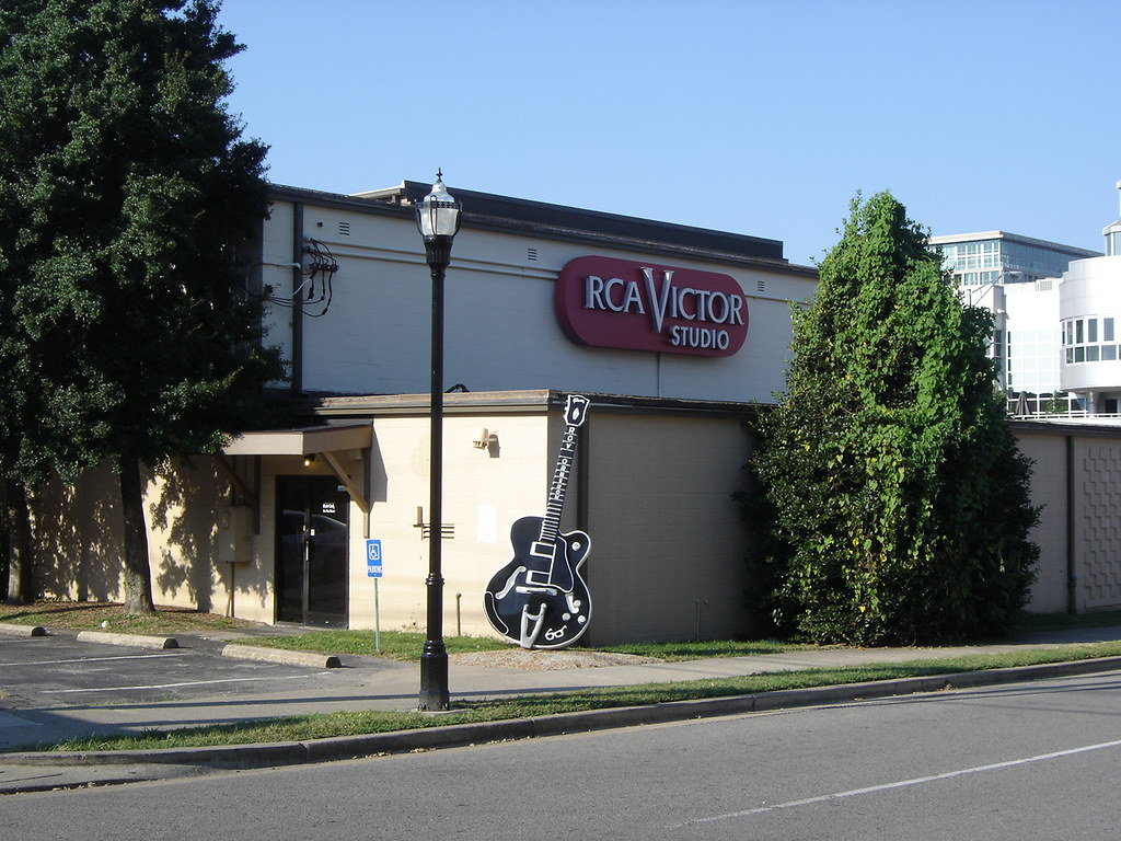 Nashville Tn Rca Studio B This Is The Outside Of The