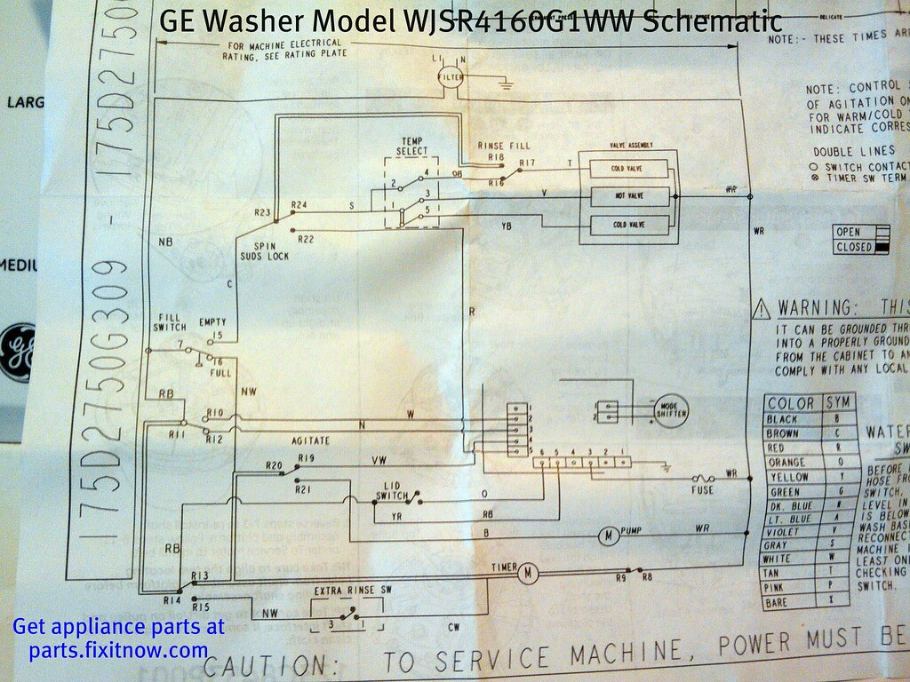 ge washer model wjsr4160g1ww schematic samurai appliance. Black Bedroom Furniture Sets. Home Design Ideas