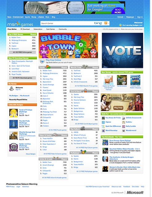 msn free games online