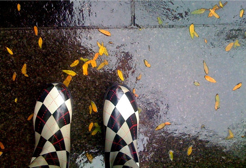 I heart argyle rain boots. | by calitexican