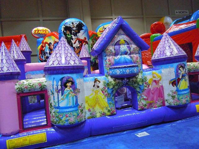 Princess Bounce House Rental Long Island