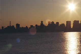 Vancouver Skyline film no PP | by rich_1884