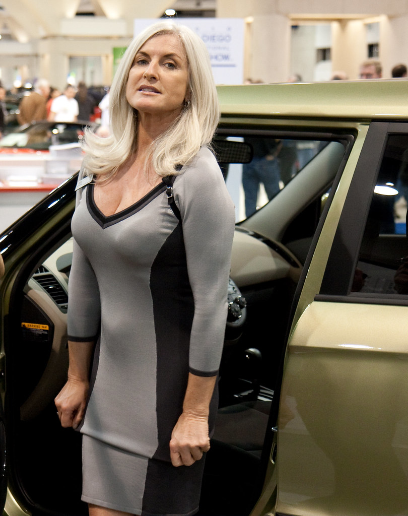 San Diego Auto Show Promotional Lady Nathan Rupert Flickr - Car show san diego today