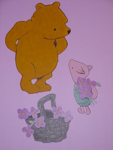 Classic Winnie The Pooh Baby Room Decor