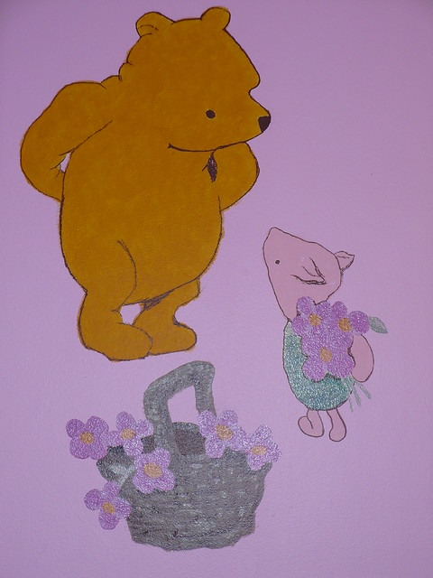 Winnie the pooh classic mural flickr photo sharing for Classic pooh mural