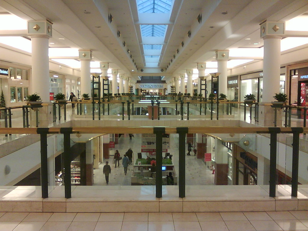 Montgomery Mall is a super-regional, two-level, indoor shopping center located conveniently at the intersection of routes and in North Wales, PA. The mall features five anchors including JCPenney, Macy's, Dick's Sporting Goods, Sears and Wegmans.