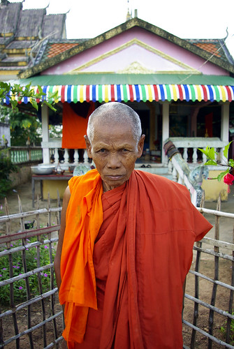Monk, Cambodia | by The Hungry Cyclist