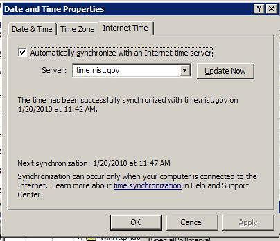Change How Often Windows Syncs Clock With Time