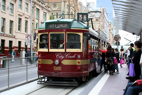 Melbourne tram by day | by roemarshall