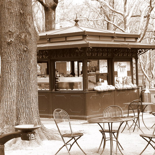Central Park Cafe | by Michaela Ristaino