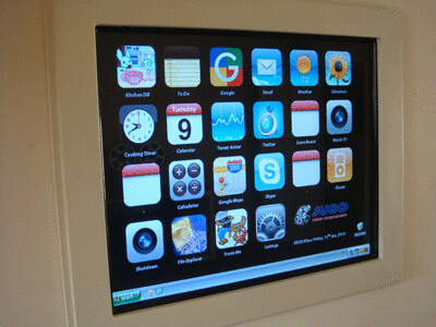 The iPhone DIY Kitchen Touch Screen Project | by smartblog