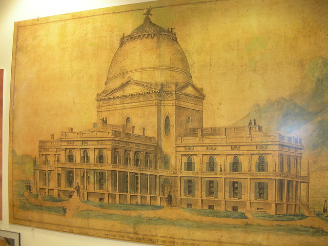 Utah Capitol Painting House