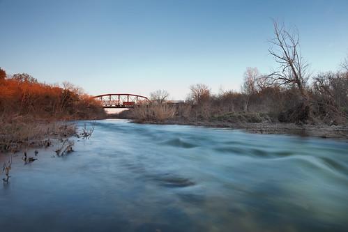 San Gabriel River Georgetown Texas B L A C K J A C K