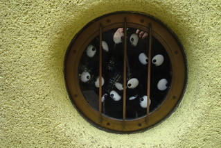 Soot sprites window | by maki